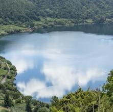 Lago di Nemi (Roma) - Il cielo nell'acqua